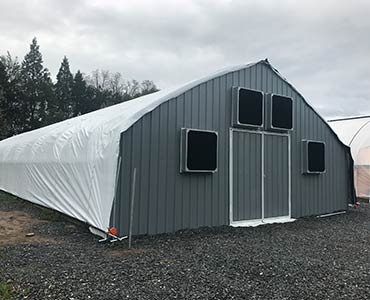 30ft. Exterior Light Deprivation Greenhouse